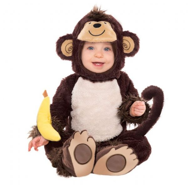 Babies Monkey Around Costume Fancy Dress Outfit